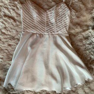 Keepsake The Label White Mini Dress | Color: White